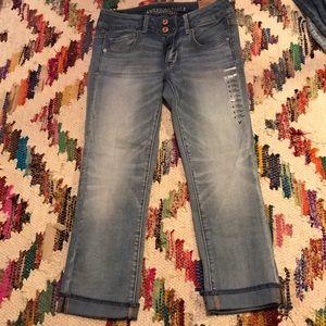 NWT AE Artist Crop Jeans